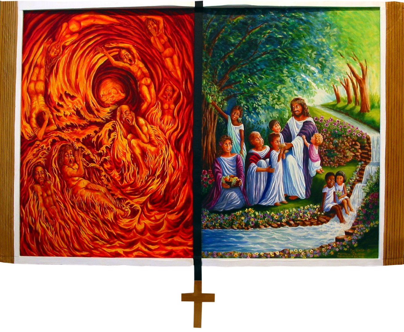 43 - Lake of Fire, River of Life - Rev 20, 21,