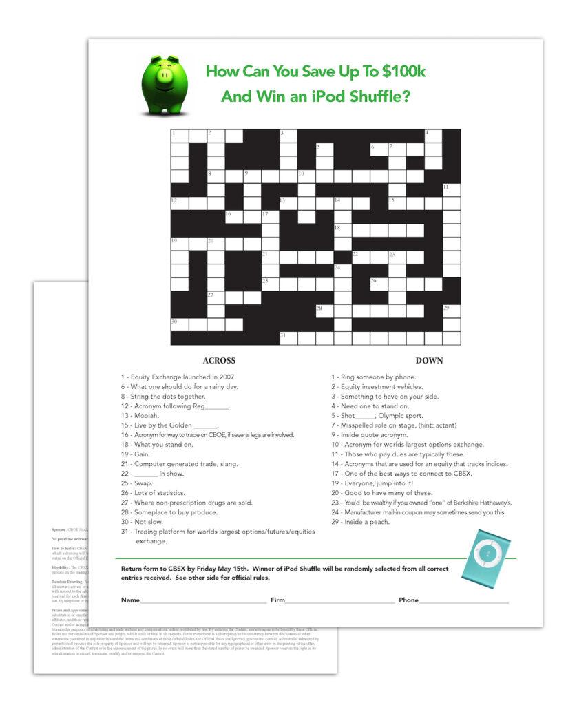 Crossword Puzzle Design