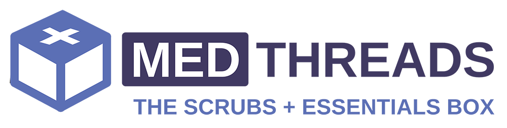MedThreads Scrubs Subscription Gift Box for nurses, doctors and essential workers