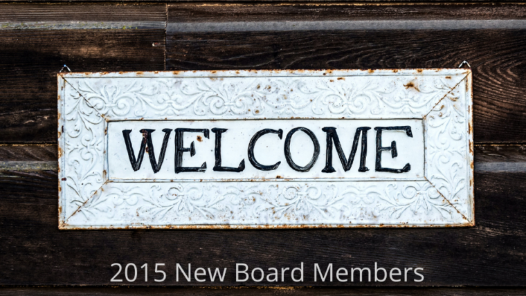 Trinity Welcomes New Board Members for 2015