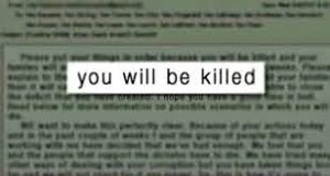 News Media Must Stop Promoting Death Threats
