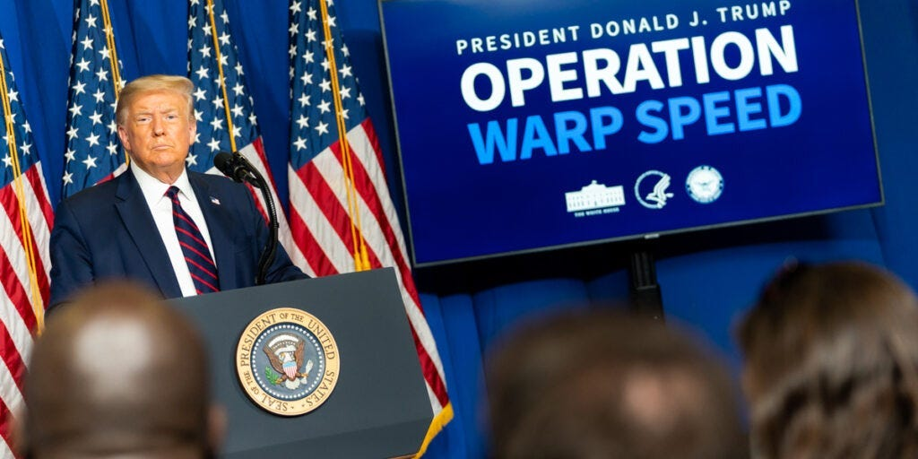 Democrats Are Wrong About Operation Warp Speed