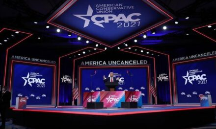 Was the CPAC Stage a Nazi Symbol?