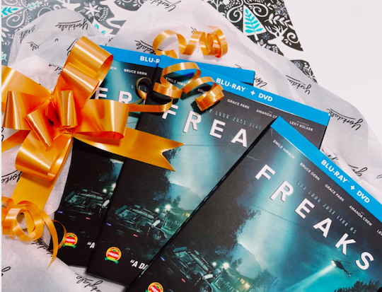 Freaks dvd +blu ray giveaway