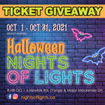 GIVEAWAY Win a Car Pass (up to 5 guests) to Halloween Nights of Lights