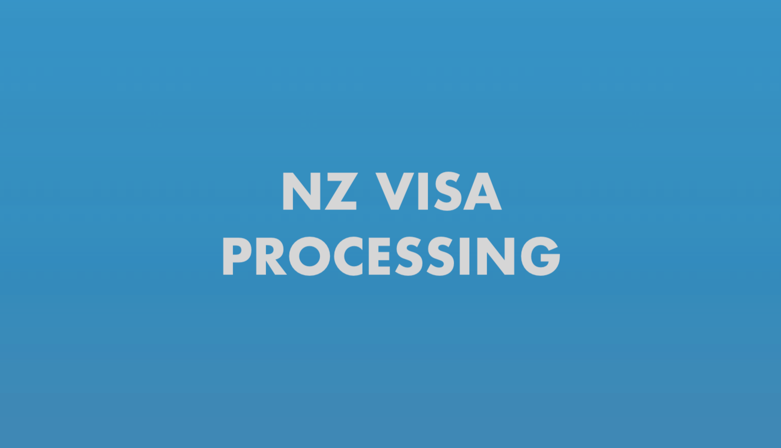 NZ Visa Processing