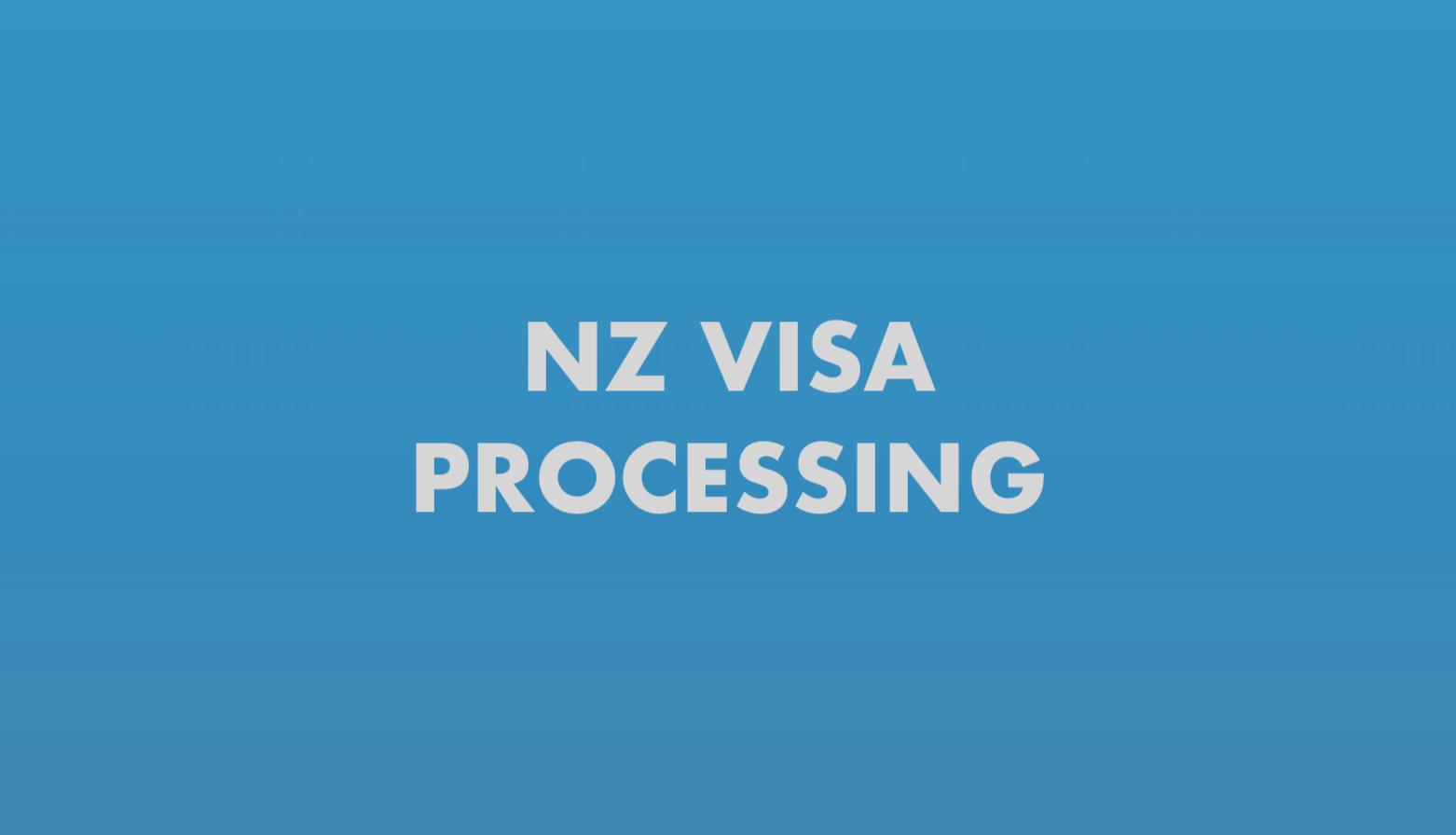 NZ Visa Processing