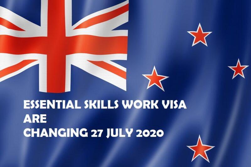 Changes to Essential Skills work visa