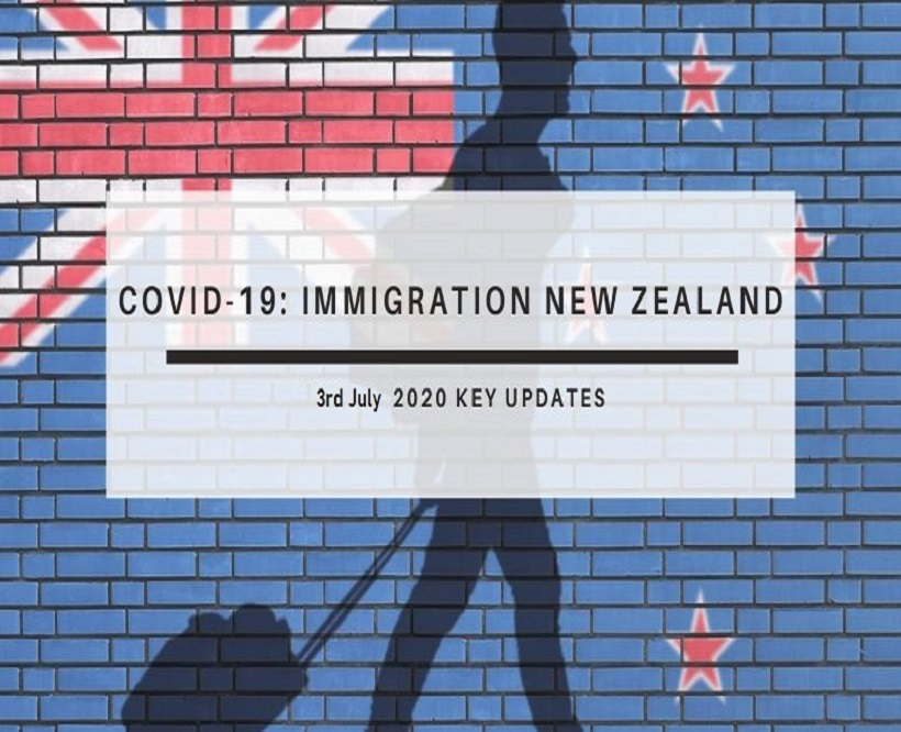 NZ-Immigration July 2020 Covid-19 Update