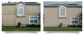 home exterior pressure cleaning