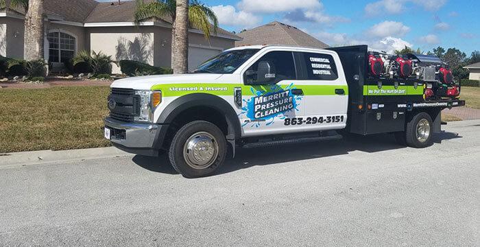 Merritt Pressure Cleaning Truck