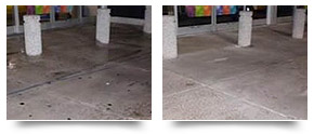 Store Front Pressure Cleaning