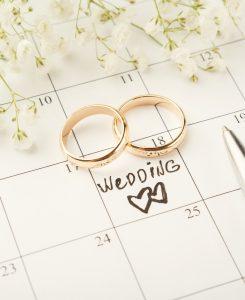 Wedding Availability