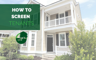 How to Screen Tenants in Charleston, SC   Property Management Education