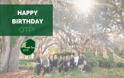 Happy, happy birthday to Oak Trust Properties!