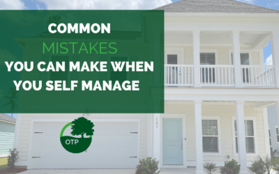Common Mistakes You Can Make When You Self-Manage