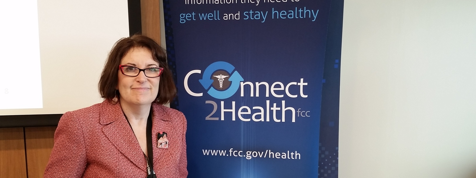 The FCC Learns About HealthDataMatters.org!