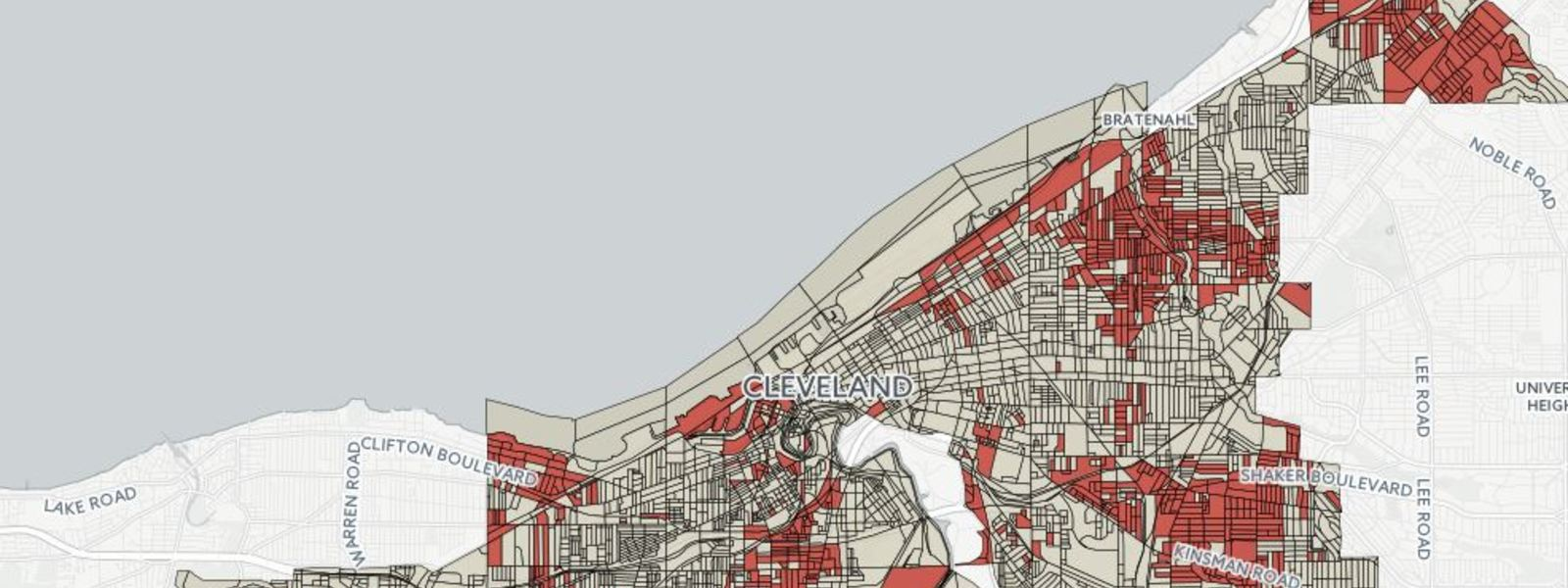 Did One Good Map Bring Low Cost Internet to Thousands of Low Income Cleveland Residents?