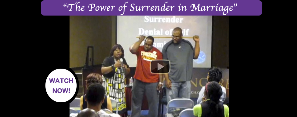 VIDEO: Power of Surrender in Marriage...