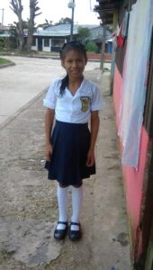 one of our students in Leticia