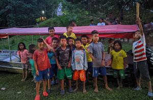 new boat for the community of La Libertad