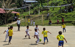 sports days on the Amazon River
