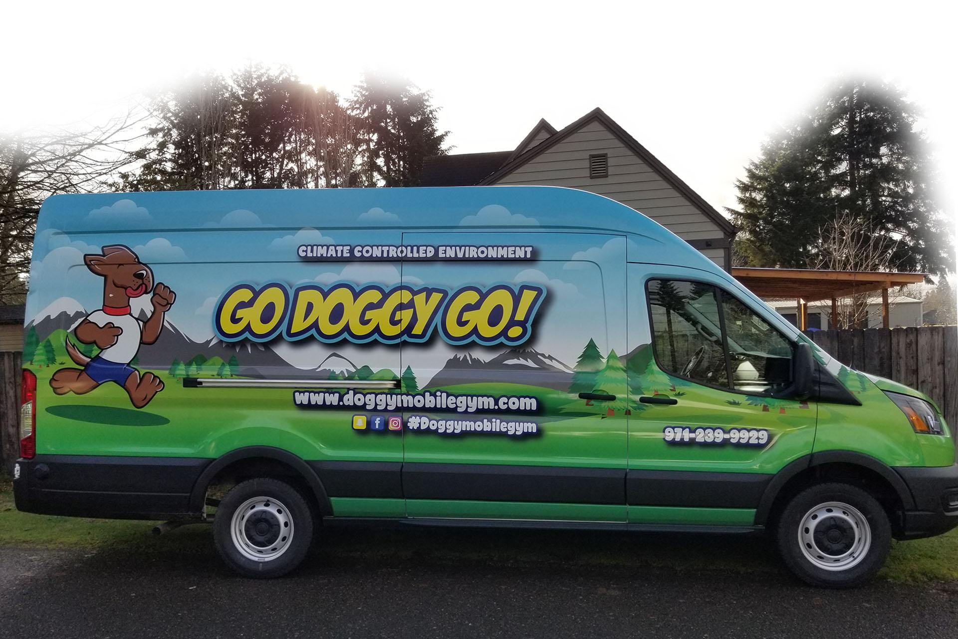 mobile dog gym Oregon