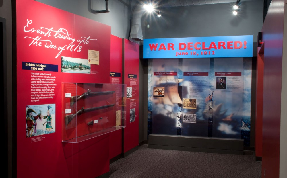Conflict Explore the history of the War of 1812 and the role that Fort Meigs played within the war. Hundreds of artifacts, most of which were found on-site, help tell the story of Fort Meigs.