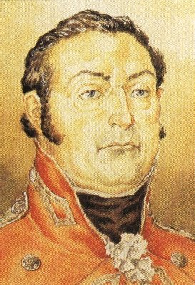 Colonel Henry Proctor by JCH Forster. Parks Canada