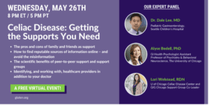 Celiac Disease getting the support you need banner