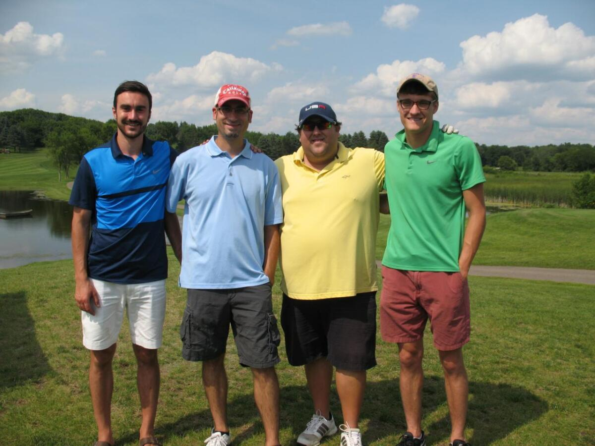 Team 8 Twin Cities Rubber Group 2017 Golf Outing