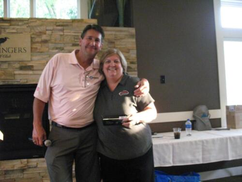 Dean and Bridget Twin Cities Rubber Group 2017 Golf Outing