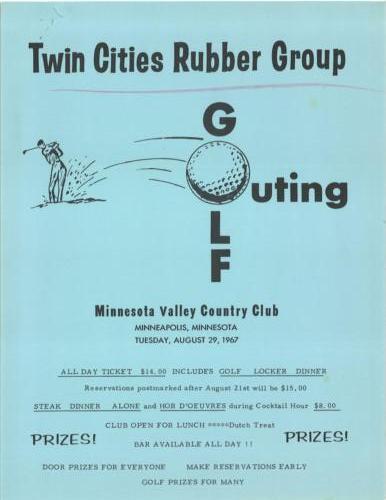 TCRG Golf 1967 Page 1