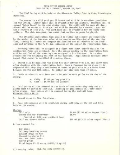 TCRG Golf 1967 Page 2