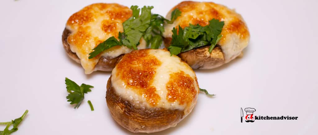 Best Stuffed Mushrooms with Cheese and Garlic