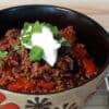 Ground Beef Chili Recipe | Instant Pot Recipes