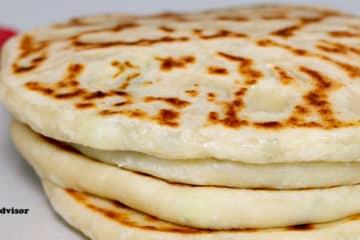 Cheese Bannock (Quick Fry Bread recipe)