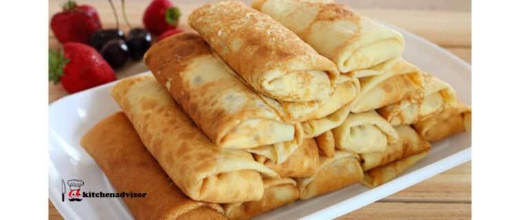Cottage Cheese Crepes Ukrainian