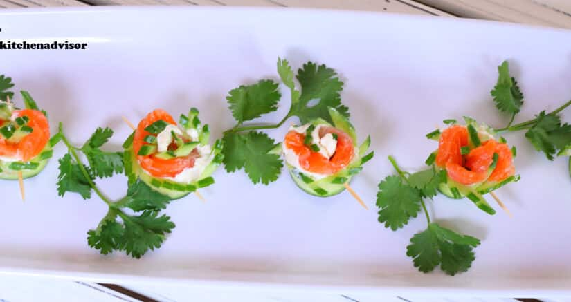 Salmon Roll | Easy Appetizer recipes