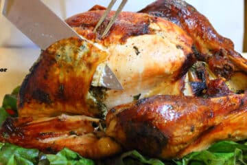 Roasted Turkey with Lemon Parsley & Garlic Gordon Ramsay recipe