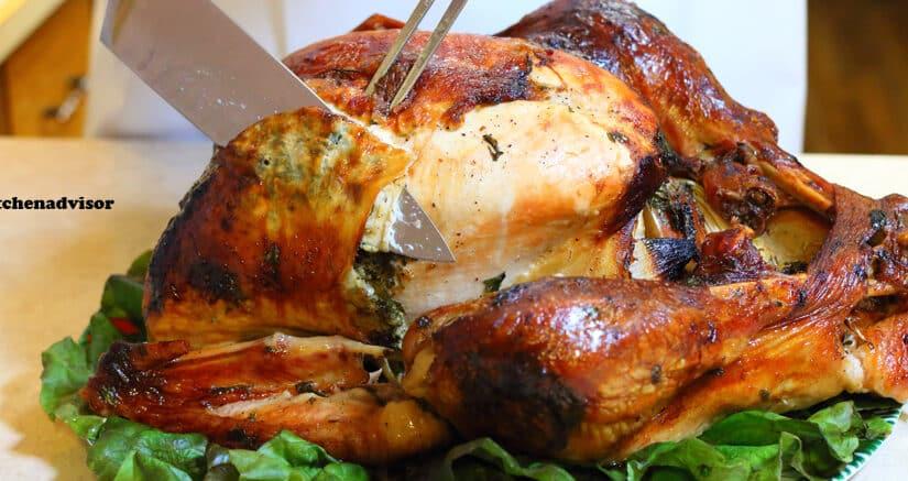 Roasted Turkey with Lemon Parsley & Garlic Gordon Ramsay recipe