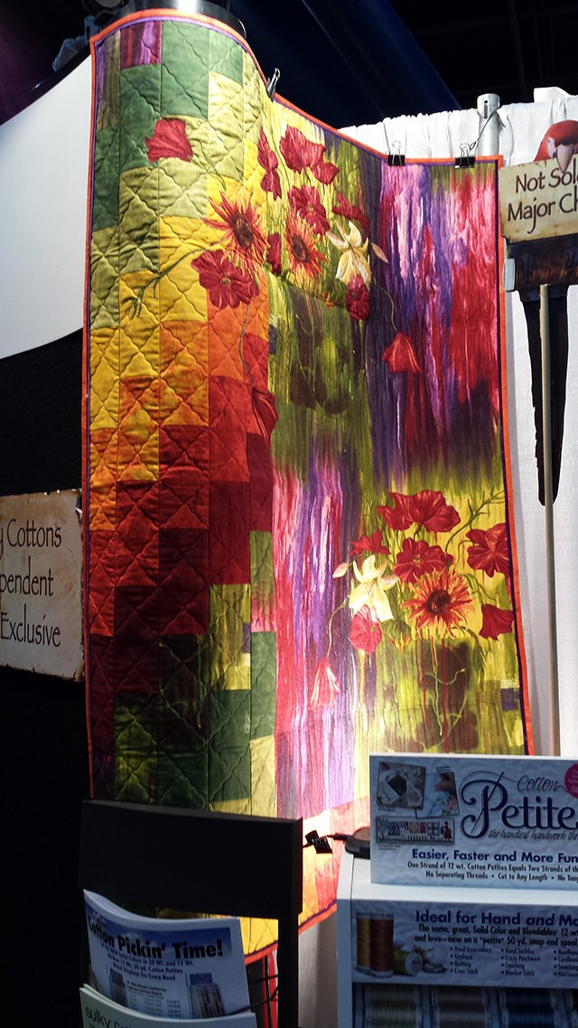 frond quilt 1