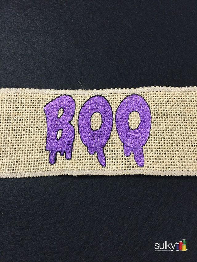 Boo ribbon 1