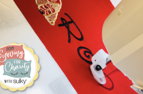 How to Embroider a Pillowcase