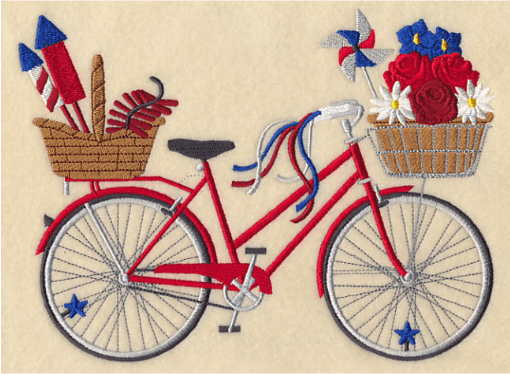 July 4 machine embroidery Embroidery Library