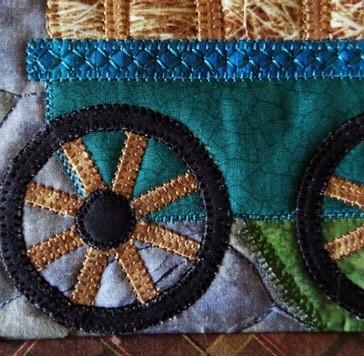 applique decorative stitch deetails