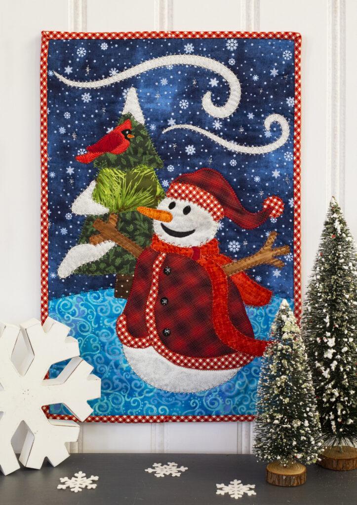 winter mini quilt final