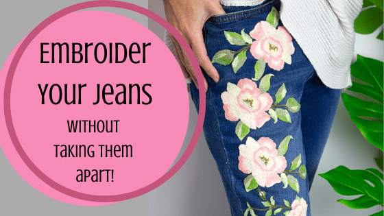 Embroidery on Jeans
