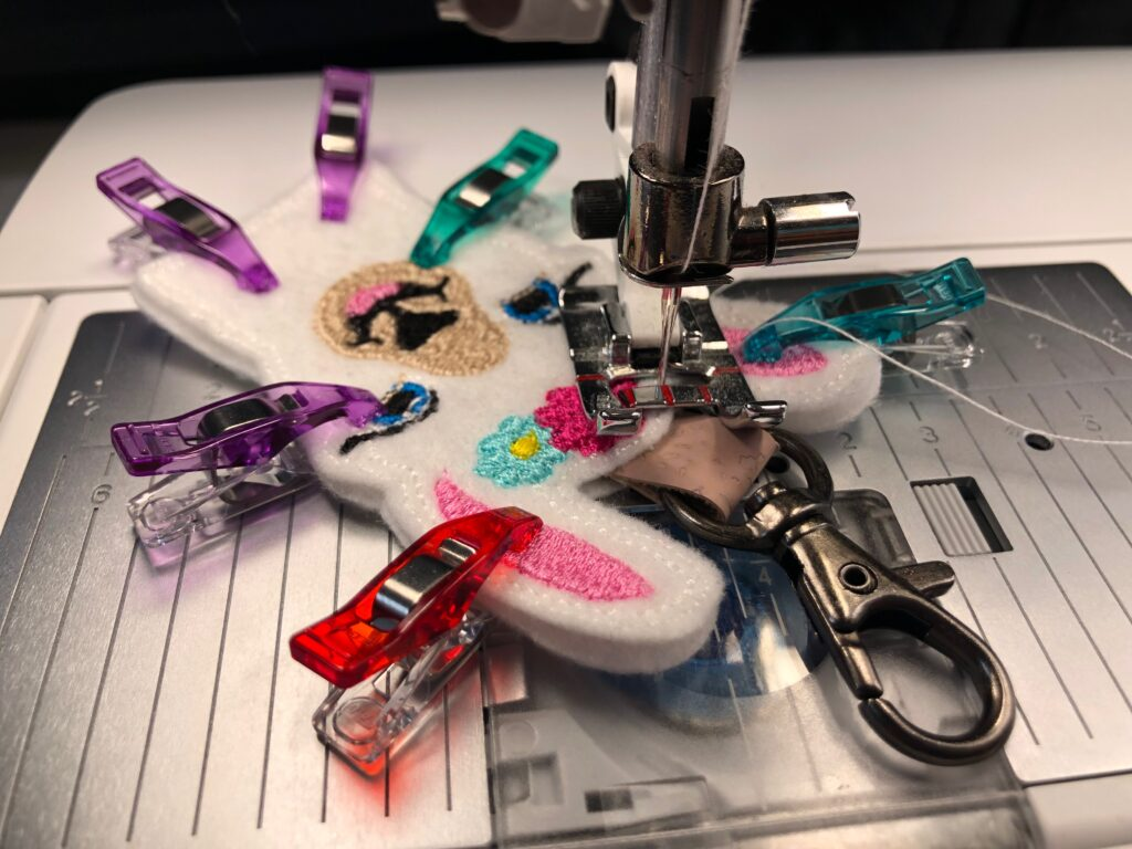 sewing llama charm