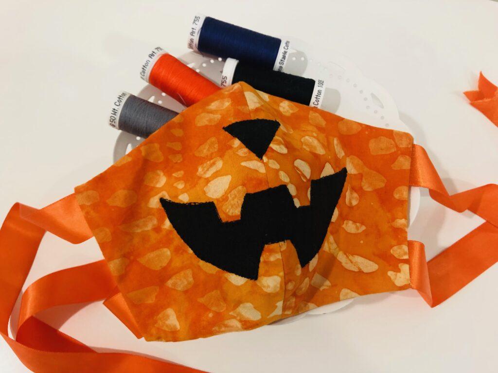costume face mask mask-o-lantern